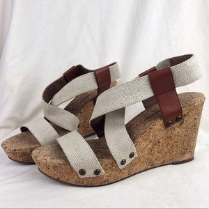 Lucky Brand | LP Marla Corkscrew Wedge